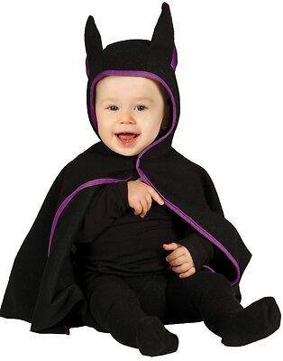 Baby Jungen Mädchen Fledermaus Umhang Halloween Kostüm Kleid Outfit 6-12 - Baby Fledermaus Mädchen Kostüm