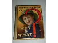 The Wonder Book Of Why & What?