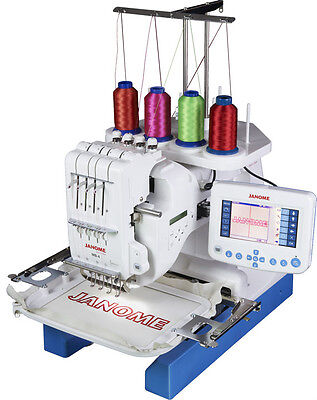 Janome MB-4N Four Needle Embroidery Machine Pre-owned refurbished