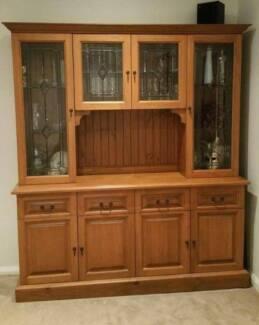 Buffet and Hutch, Cabinet - Tasmanian Oak custom built Canada Bay Canada Bay Area Preview