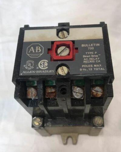 A-B Allen Bradley Bulletin 700 Type N Control Relay Cat. # 700-N800A1 Series C