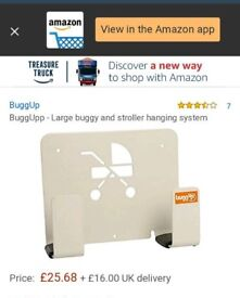 BUGGUP - large stroller & buggy hang up system