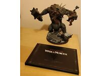 The Lord of The Rings _ War In The North _ Collector's Edition Troll Statue & Artbook