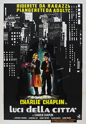 City Lights (1931) Charlie Chaplin Movie Poster 24x35 Inches