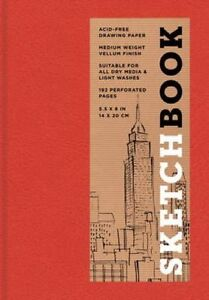 Sketchbook (Basic Small Bound Red) by Sterling Publishing Company (Hardback,...