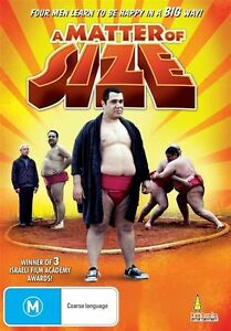 A Matter Of Size (DVD, R4, 2012) BRAND NEW SEALED - FREE POST!