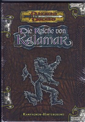 D&D: Die Reiche von Kalamar deutsches  HC-Buch & NEU