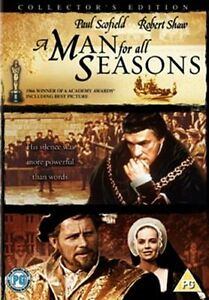 A Man for All Seasons Deluxe Collector's Edition New DVD Region 4