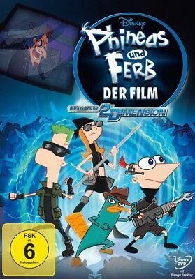 erb - Der Film: Quer durch die 2. Dimension (Phineas Und Ferb)