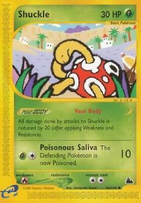 Shuckle - 96/144 - Common NM Skyridge Pokemon