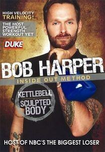 Bob Harper Inside Out Method Kettlebell Sculptured Body DVD All Region New