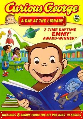 CURIOUS GEORGE: A DAY AT THE LIBRARY NEW