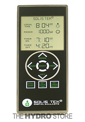 Solis Tek Remote For Matrix Se De Ballast   Solistek 1000W Sync Timer