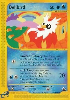 Delibird - 49/144 - Common NM Skyridge Pokemon