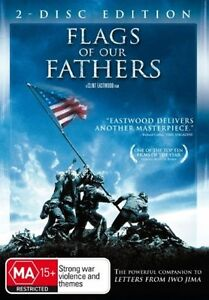 Flags-of-Our-Fathers-DVD-2-DISC-EDITION-CLINT-EASTWOOD-FILM-REGION-4-LIKE-NEW