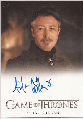 Aidan Gillen as Petyr 'Littlefinger' Baelish Autograph Game of Thrones Season 7