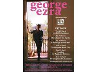 George Ezra tickets at O2 Apollo Manchester