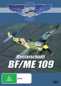 MESSERSCHMITT BF/ME109 - LEGENDS OF THE AIR - NEW DVD