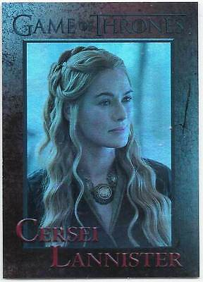 CERSEI LANNISTER LENA HEADEY 2016 GAME OF THRONES FOIL CARD # 46 RETTENHOUSE