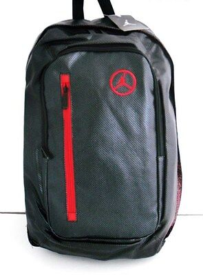 NEW NIKE JORDAN UNISEX BACKPACK BLACK/RED 9A1167-023
