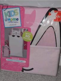 Brand new single Cat duvet set