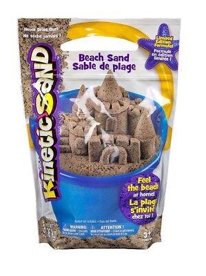 🚛 Fast Shipping! 3lb Kinetic Sand Beach Sand Sensory Kids Non Toxic Natural