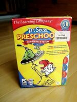 The Learning Co.- Dr. Seuss Preschool Learning System -2CD's+DVD