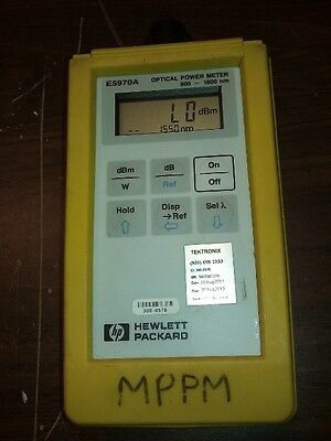 Hpagilent E5970a Optical Power Meter