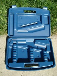 Empty Spare Case for a Mastercraft Rotary Reciprocating Tool