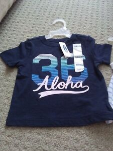 "Brand new with tags Old Navy ""Aloha"" Graphics T-shirt London Ontario image 1"