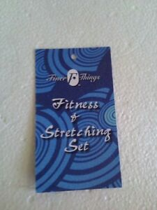 Finer fitness Exercise and Stretching Set Brand new in box London Ontario image 9