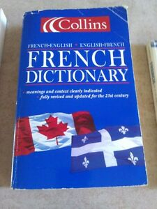 Collin's English-French dictionary