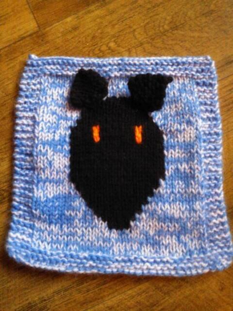 Greyhound Patchwork Blanket Panel Knitting Pattern Ebay