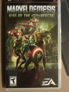 Marvel Demesis Rise of the Imperfects PSP Game