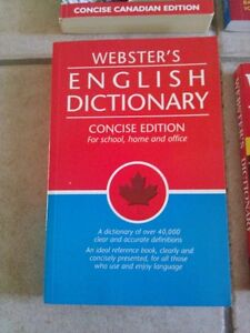 Webster's English Dictionary Concise edition