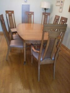 French Walnut Diningroom Suite