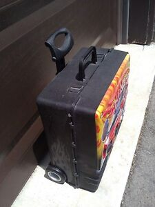 Hotwheels car storage suitcase carrying case system container London Ontario image 3