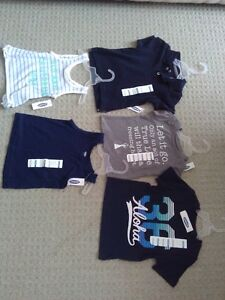 BNWT KID TODDLER GIRL'S T-SHIRTS TANK TOPS POLO 12-18 M LOT OF 5 London Ontario image 6