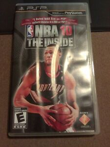 NBA 10 The Inside PSP Game