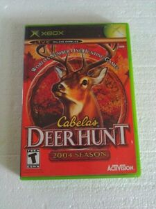 Cabela's Dear Hunt 2004 Season for XBOX Video Game