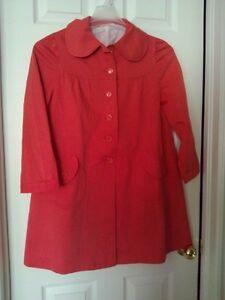 Women's red coat jacket Size Medium London Ontario image 2