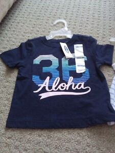 BNWT KID TODDLER GIRL'S T-SHIRTS TANK TOPS POLO 12-18 M LOT OF 5 London Ontario image 7