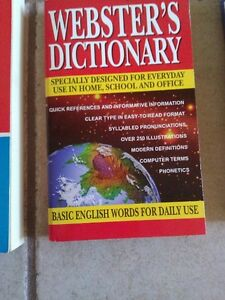 Webster's English Dictionary for basic daily use
