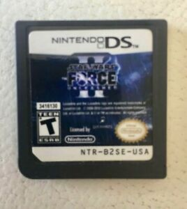 Nintendo DS Star Wars Force Unleashed Game.   $10.00