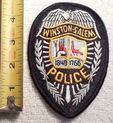 WINSTON-SALEM NORTH CAROLINA POLICE PATCH (HIGHWAY PATROL, SHERIFF, STATE)