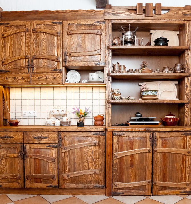 Cabinets Are Another Popular Kitchen Antique To Include In A Historic Home.  Decorators Can Choose From Cabinets That Attach To The Wall Or The  Freestyle ...