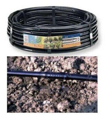 100mt tubo ala gocciolante 16 Passo 20 irrigazione impianto goccia orto giardino