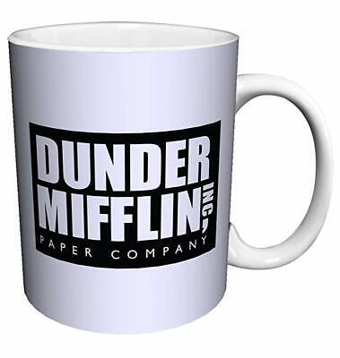 Dunder Mifflin World's Best Boss TV Television Show Ceramic Coffee Mug (World's Best Boss Gifts)