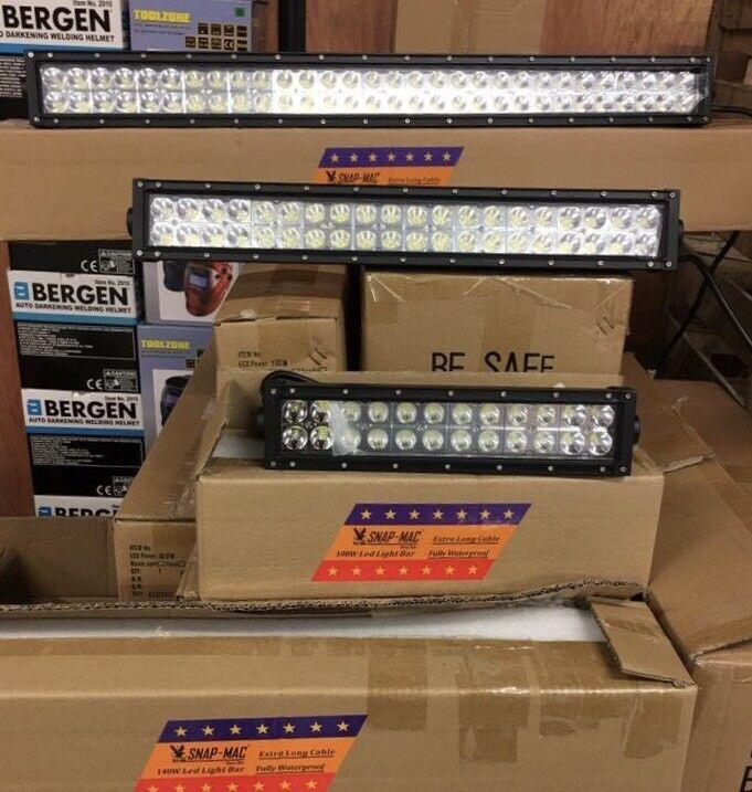 LED Light Bars 3 sizes