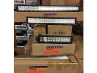 "16"" and 24""inch LED LIGHT BARS"